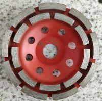 100 125 180 mm  Diamant Schleiftopf Schleifteller Schleifscheibe Betonschleifer