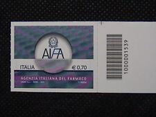 ITALIA  2013 AGENZIA ITALIANA DEL FARMACO 1 valore codice a barre