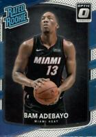 2017-18 Donruss Optic Bam Adebayo Rated Rookie RC Base Miami Heat #187