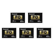 5 Panasonic Pro Mini DV Tape XH G1S XL1 XL2 HV10 HV20 MVX100i HDV HD camcorder
