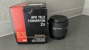SIGMA APO TELE CONVERTER 2X EX for Nikon AF Full Frame DG