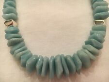 "Jay King DTR Mine Finds Chunky Soft Amazonite 18"" Graduated Necklace"