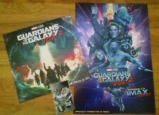 Guardians Of The Galaxy Vol 2 Exclusive Mini Poster Set of 2 with Bonus Buttons