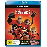 Incredibles 2 (Blu-ray, 2018) (Region B) New Release