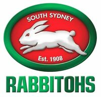 NRL South Sydney Rabbitohs Emblem Sticker or Magnet