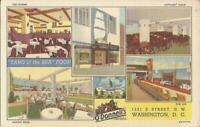 Washington, D.C. - O'Donnell Sea Grill Restaurant - 1940 - MULTIVIEW