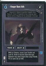 Star Wars CCG A New Hope Limited BB Trooper Davin Felth