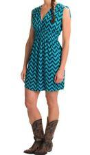 Rock & Roll Cowgirl Chevron pattern Dress size LARGE