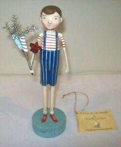 Bethany Lowe FIRECRACKER BOY Patriotic Figure by Michelle Lauritsen (ML9272)