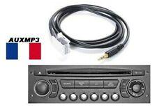 Cable Aux MP3 Auxiliar Jack 3.5mm Citroën RD4 DS3 C3 C4 C5 Picasso C6 C8