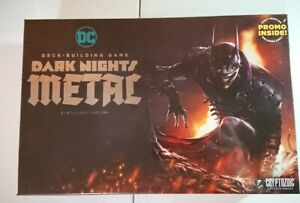 DC Deck-Building Game: Dark Nights: Metal First Printing With Promo
