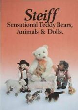 NEW STEIFF 'Sensational Teddy Bears Animals & Dolls' HC BOOK PISTORIUS EX GUIDE!