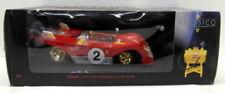 Voitures miniatures de tourisme rouge Ferrari 1:18