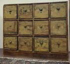 Nineteen Century Apothecary Cabinet Retaining Original Paint Finish