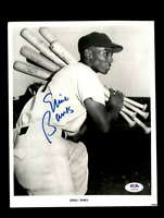 Ernie Banks PSA DNA Coa Hand Signed 8x10 Photo Autograph