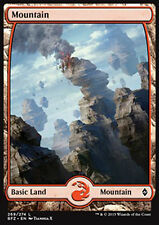 MTG MOUNTAIN #269 FOIL - MOUNTAIN FULL ART 5 - BFZ - MAGIC