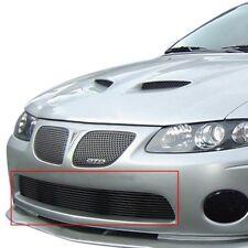 For Pontiac GTO 04-06 APG GR16FEH07J 1-Pc Black Horizontal Billet Main Grille