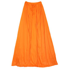 "39"" Orange Cape ~ HALLOWEEN SUPERHERO, RENAISSANCE, MEDIEVAL, COSPLAY COSTUME"