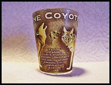 Shot Glass Coyote Facts and information all around the glass. Wild Coyote New 82