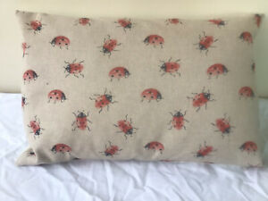 Ladybird Bolster Cushion Cover 18x12(45x30)
