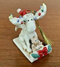 Lenox 2011 Merry Moosecapades Annual Moose Ornament