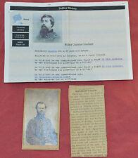 CDV Major General James Birdeye McPherson, Death Article as told by Gen. Gresham