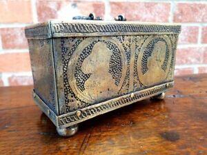 16thC German Antique Nuremberg Made Miniature Table Casket attr to Michel Mann