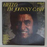 JOHNNY CASH: Hello, I'm Johnny Cash Columbia P 13832 '77 LP Vinyl Record VG+