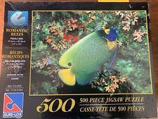 """Jigsaw Puzzle 500 piece 14""""x19"""" Sure-Lox Romantic Reefs Gorgonian Sea Fan Fish"""
