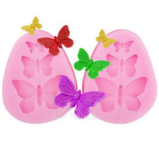 3D Butterfly Cake Decorating Mold Silicone Fondant Chocolate Baking Tool Mold