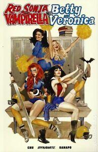 Red Sonja and Vampirella meet Betty and Veronica TPB #1-1ST VF 2020 Stock Image