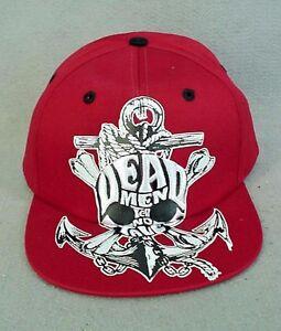 Dead Men Tell No Tales RED Youth Baseball Cap Disneyland  NEW