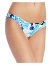 NEW 6 Shore Road by Pooja Coiba Blue Multi Bikini Bottom Swimwear S Small
