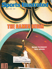 """Sports Illustrated August 6 1984 """"The Games Begin"""""""