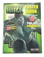 """The Incredible Hulk (Marvel, 2008) Poster Book / 10 Posters 20"""" Tall *New*"""