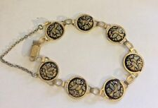 DAMASCENE BRACELET MADE IN TOLEDO, SPAIN