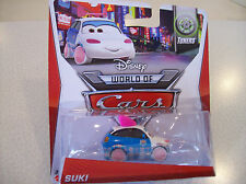 Disney World of Cars - SUKI -  NEWEST 2014 release - HTF