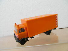 Ens50609 praliné 1:87 MERCEDES MB LP 809 camions orange, très bon état,