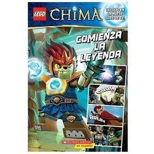 LEGO Las Leyendas de Chima: Comienza la leyenda: (Spanish language edi-ExLibrary