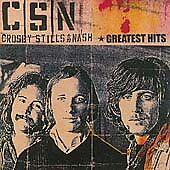 Greatest Hits Crosby, Stills & Nash Very Good Original recording remastered