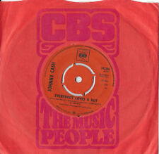 "JOHNNY CASH * EVERYBODY LOVES A NUT * RARE UK 7"" SINGLE CBS 202256 PLAYS GREAT"