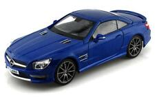 Maisto 1/18 Mercedes Benz SL 63 AMG Hard Top Diecast Model Car Blue (36199)