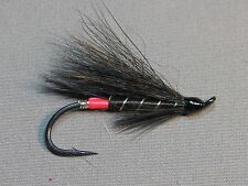 Black Bear Red Butt Atlantic Salmon Flies - 6 Fly MULTI-PACK - Sizes 4, 6, 8