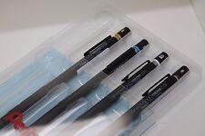 Pentel  GRAPH 1000 Mechanical Drafting Pencil  0.3,0.5,0.7,0.9 4 pencils set.