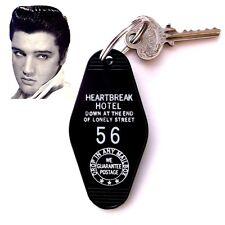 "Rare ELVIS PRESLEY novelty ""HEARTBREAK HOTEL"" rock & roll KEY TAG, concert, 1956"