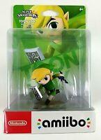 Toon Link Super Smash Bros Legend Of Zelda amiibo Figure Nintendo 2014 Sealed