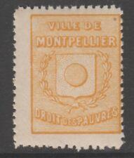 France Fiscal Revenue Stamp 1-21-21 mnh gum