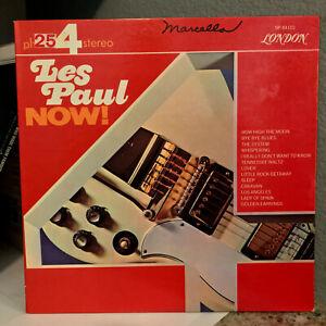"LES PAUL - Now! (Phase 4 Stereo)(London SP 44101) - 12"" Vinyl Record LP - EX"
