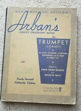 Arban's Complete Conservatory Method for trumpet and other instruments