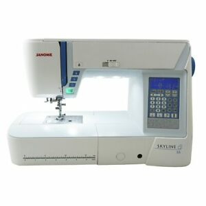 Janome Skyline S5 S 5 Sewing and Quilting Machine